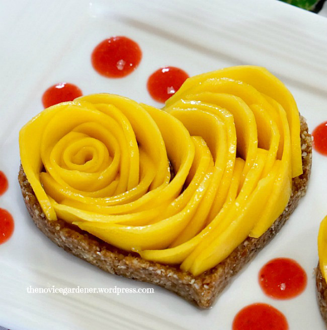 raw-crust-mango-tart-thenovicegardener2